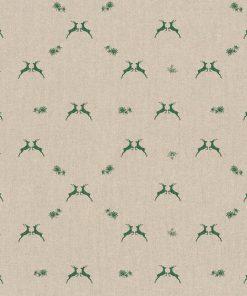 linnenlook kerststof printstof decoratiestof gordijnstof Kerststoffen kopen 1-104530-1765-530