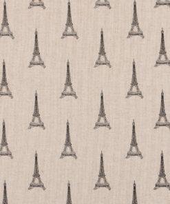 Linnenlook Eifeltoren printstof gordijnstof decoratiestof 1-104530-1881-630