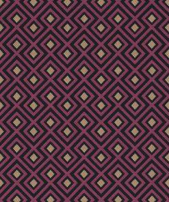 jacquardstof art deco blocks hot pink 1-201531-1020-385