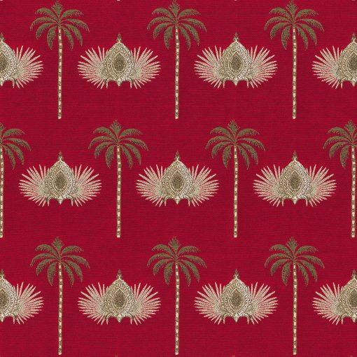 jacquardstof Luxury Palms gordijnstof meubelstof decoratiestof stof met palmbomen1-202530-1103-325