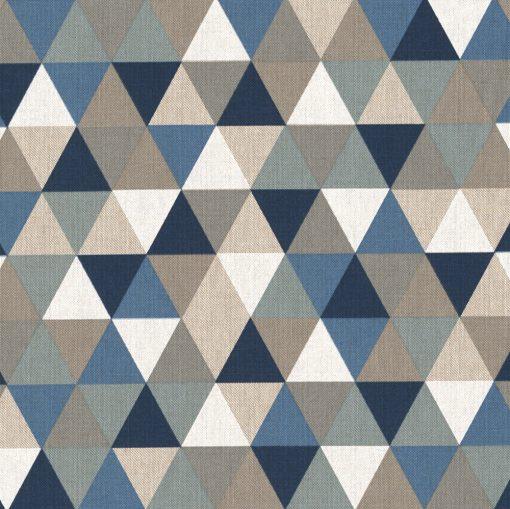 linnenlook grafische printstof gordijnstof decoratiestof 1.104530.1796.460