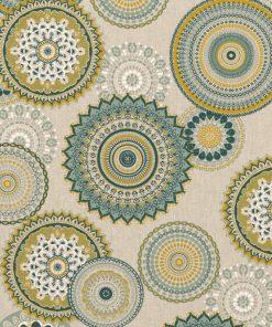 linnenlook grafische printstof gordijnstof decoratiestof 1.104530.1834.525