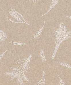 linnenlook Cereals stof met granen decoratiestof gordijnstof meubelstof printstof stof met graanhalmen, 1.104530.1858.050