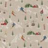linnenlook Winter Sports stof met skiërs stof motief 269 decoratiestof gordijnstof meubelstof printstof stof met skiërs, 1.104530.1864.655