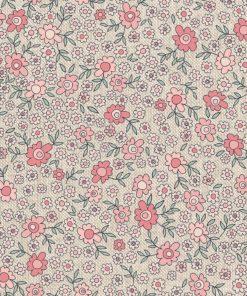 linnenlook Daisy Allover stof met bloemen bloemenstof printstof gordijnstof decoratiestof 1.104530.1896.355