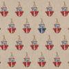 linnenlook Sea Shore Boat stof met bootjes printstof met boten decoratiestof gordijnstof 1.104530.1898.315