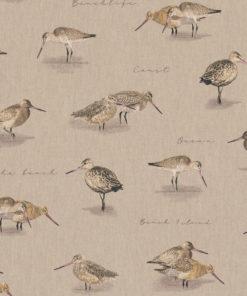 linnenlook dierenstof printstof vogels decoratiestof gordijnstof 1.104530.1902.105