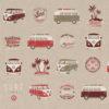 linnenlook VW stof printstof decoratiestof gordijnstof 1.104630.1014.315