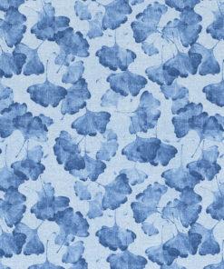 gordijnstof decoratiestof printstof ottoman 006 ginkgostof 1.105030.1743.460