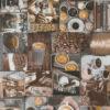 gordijnstof decoratiestof printstof koffie ottoman 008 1.105030.1746.180