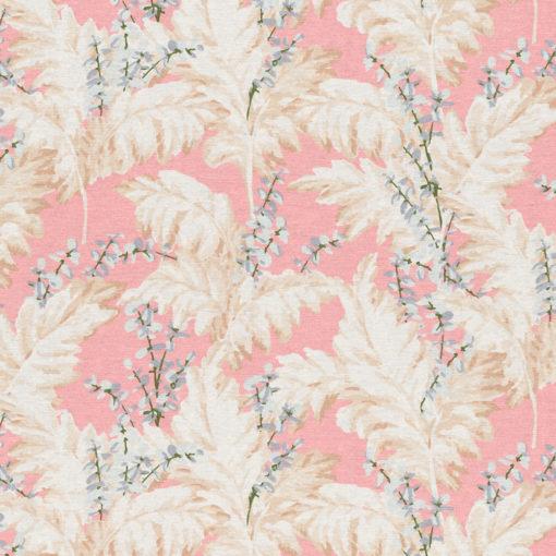 ottoman printstof met pampasgras print gordijnstof decoratiestof 1.105030.1749.350