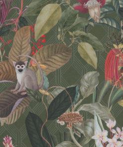 jungle stof katoenen decoratiestof gordijnstof meubelstof, 1.151030.1376.535