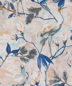digitale printstof met vogels katoenen decoratiestof gordijnstof meubelstof, 1.151030.1386.465