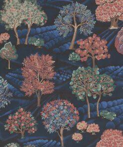 digitale printstof 253 stof Heuvelland stof met landschap decoratiestof gordijnstof1.151030.1399.470