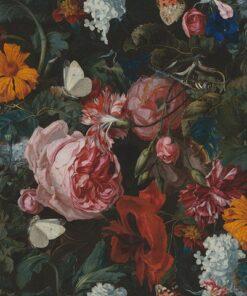 digitale printstof 252 stof stilleven met bloemen stof Painted Flowers decoratiestof gordijnstof meubelstof 1.151030.1400.655