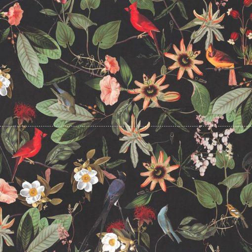 velvet printstof decoratiestof gordijnstof meubelstof 1.152520.1023.655