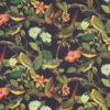bedrukte velvet met tropische vogels en bloemen gordijnstof decoratiestof meubelstof velvet stof kopen fluweel stof kopen velours stof kopen 1.152520.1029.630