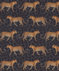 bedrukte velvet met luipaarden gordijnstof decoratiestof meubelstof 1.152520.1035.265