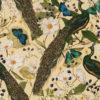 Velvet pauwenstof printstof decoratiestof gordijnstof meubelstof velvet stof kopen velours stof kopen fluweel stof kopen 1.152540.1046.540