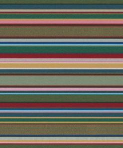 jacquardstof Lounge Strepen Groen meubelstof gordijnstof decoratiestof stof met strepen 1.202530.1108.525