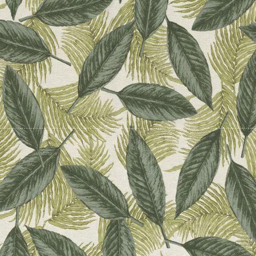 jacquardstof Leaves Ferns meubelstof gordijnstof decoratiestof stof met blaadjes en varens 1.202530.1109.525