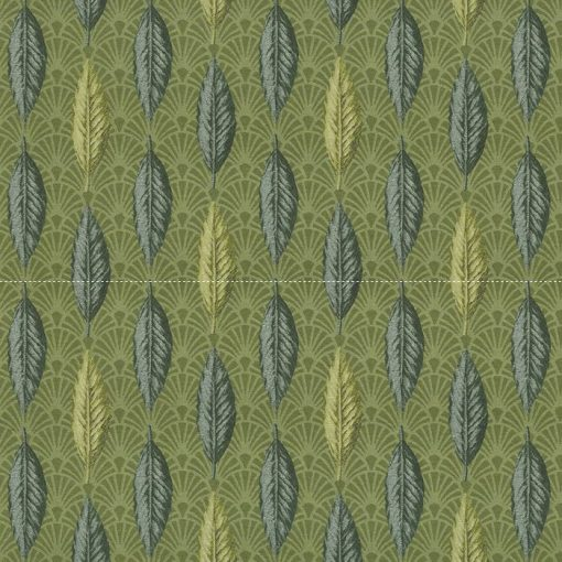 Leaves Rhythm jacquardstof met blaadjes decoratiestof meubelstof gordijnstof 1.202530.1111.525