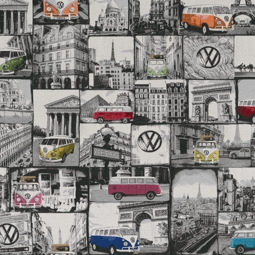 jacquardstof 005 VW meubelstof gordijnstof decoratiestof 1.202630.1015.655