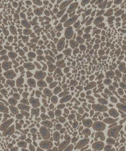 luipaardvel de luxe taupe decoratiestof gordijnstof meubelstof jacquardstof met luipaardmotief1.204032.1012.150
