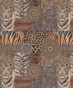 gobelin 025 stof met tijgerprint decoratiestof gordijnstof meubelstof 1.251030.1577.265