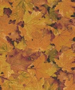 herfststof gobelin 026 gobelin stof met herfstblad decoratiestof gordijnstof meubelstof 1.251030.1580.275