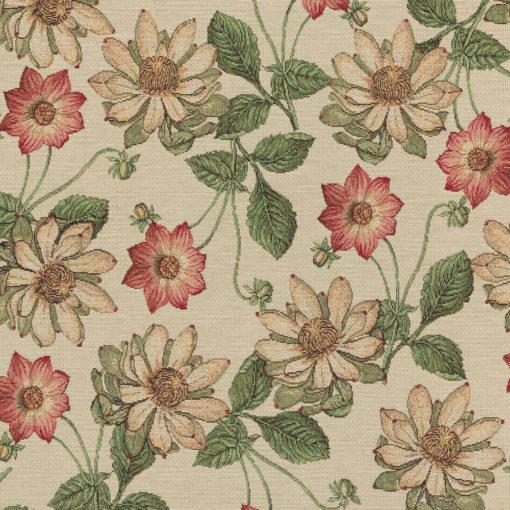gobelin bloemen decoratiestof gordijnstof meubelstof 1.251030.1582.305