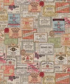 gobelin wijnlabels decoratiestof gordijnstof meubelstof 1.251030.1583.655