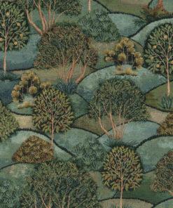 gobelin 011 stof met bomen decoratiestof gordijnstof meubelstof 1.251030.1585.530