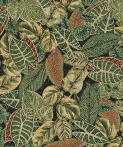 gobelin stof met bladeren decoratiestof gordijnstof meubelstof 1.251030.1586.525
