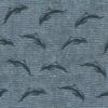 gobelin stof met dolfijnen decoratiestof gordijnstof meubelstof 1.251030.1593.460