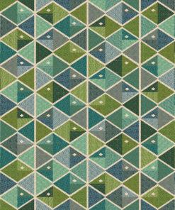 gobelin stof met vissen decoratiestof gordijnstof meubelstof 1.251030.1594.525