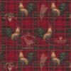gobelin stof met hanen decoratiestof gordijnstof meubelstof 1.251030.1597.330