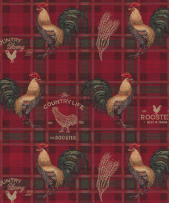 gobelin dieren 013 gobelin stof met hanen decoratiestof gordijnstof meubelstof 1.251030.1597.330