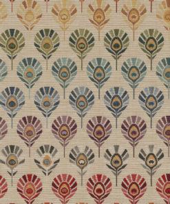 gobelin pauwenveren decoratiestof gordijnstof meubelstof 1.251030.1600.655