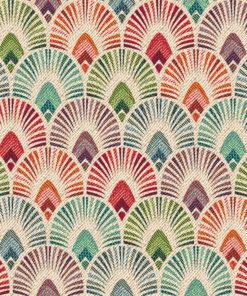 gobelin stof met boogjes decoratiestof gordijnstof meubelstof 1.251030.1602.655