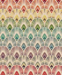 gobelin stof met boogjes decoratiestof gordijnstof meubelstof 1.251030.1604.655