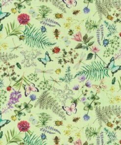 outdoorstof digitale dralonprint stof voor tuinkussens met wilde bloemen 2.171031.1019.515