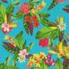 outdoorstof digitale dralonprint stof voor tuinkussens met exotische bloemen 2.171031.1020.655