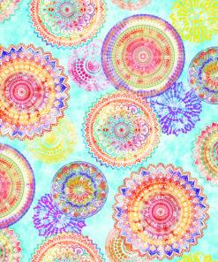 outdoorstof digitale dralonprint stof voor tuinkussens met mandala 2.171031.1028.495