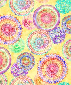 outdoorstof digitale dralonprint stof voor tuinkussens met mandala 2.171031.1029.215