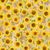 outdoorstof digitale dralonprint stof voor tuinkussens met zonnebloemen 2.171031.1032.220