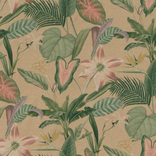 outdoorstof digitale dralonprint stof voor tuinkussens met bladeren 2.171031.1034.525