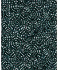jacquardstof Abori canard mandala interieurstof meubelstof gordijnstof decoratiestof