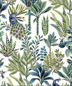 jacquardstof Amadeus bleu meubelstof gordijnstof interieurstof decoratiestof