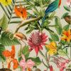 Outdoorstof Bora Bora lin dralonprint stof voor tuinkussens met tropenprint